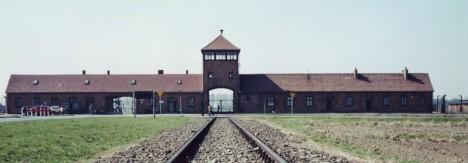 AuschwitzCampEntrance