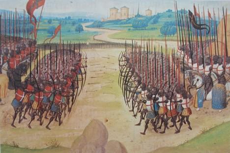 Bitva u Azincourtu představuje dodnes jedno z největších vítězství Angličanů nad Francouzi