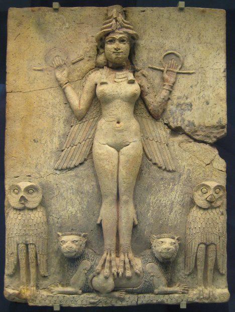 Bohyně lásky Ištar ve starověkém Babyloně chce jako oběť sexuální akt.