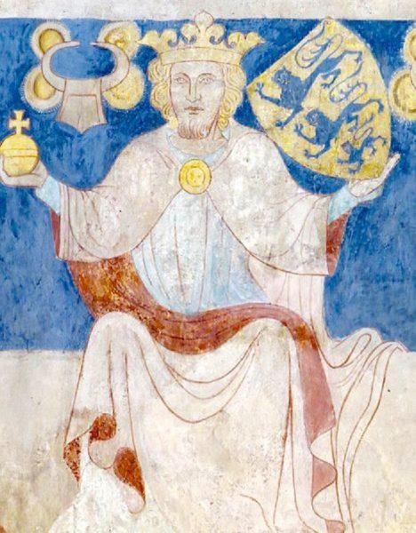Dánský král Valdemar II. vydává nařízení o tom, že každý musí vypít svůj pohár až do dna.