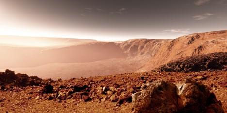 Dnes je Mars suchou a prašnou planetou