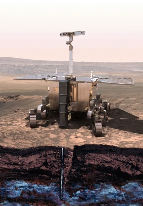 Mise ExoMars naplánovaná na rok 2018 chce zkoumat právě jevy okolo výskytu vody na Marsu. Sbírat vlhkost z atmosféry má nový přístroj nazvaný HABITAT.