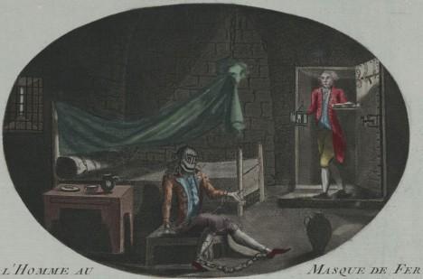 Muž se železnou maskou byl více než 30 let vláčen po různých francouzských věznicích.