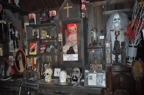 V současné době se panenka Annabelle nachází v okultním muzeu ve městě Monroe v americkém státě Connecticut.