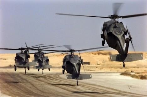 Zřejmě se nikdy nedozvíme, co jsou tajemné černé helikoptéry zač.