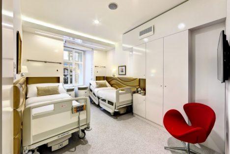 Pokoj pro pacienta.