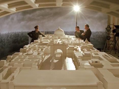 Nacistické plány na přestavbu centra rakouského Lince nezůstaly jen na papíře, vznikly také velké makety budov.