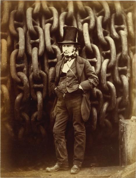 Britský konstruktér Isambard Kingdom Brunel se proslavil například stavbou velkých železničních mostů a projektováním přepravních tras.