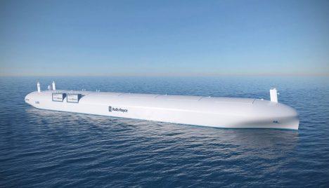 Prototyp představený firmou Rolls-Royce je plavidlem dlouhým 300 metrů a s kapacitou 6 500 standardních nákladních kontejnerů.