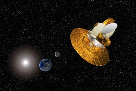 Americká sonda WMAP umístěná 1,5 milionu kilometrů od Země zkoumala od roku 2001 mikrovlnné záření ve vesmíru. Její údaje pomohly vědcům nahlédnout do minulosti a odhalit mnohé o vzniku vesmíru.