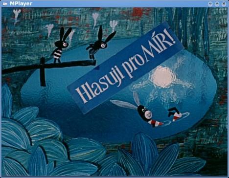 Podprahový signál skrytý v animovaném večerníčku Pojďte pane, budeme si hrát.