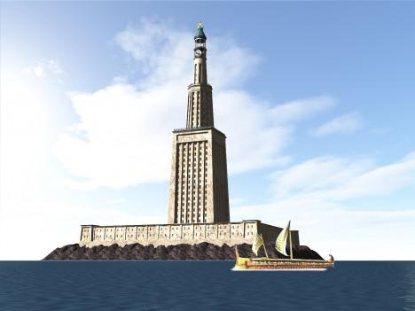 Egyptská vláda nyní uvažuje o tom, že na původním místě vztyčí moderní repliku legendárního majáku.