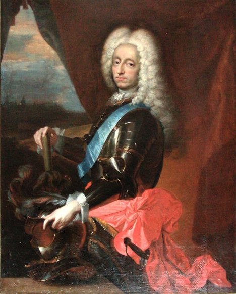 Dánský král Frederik IV. nenechá na pokoji žádnou ženskou sukni.