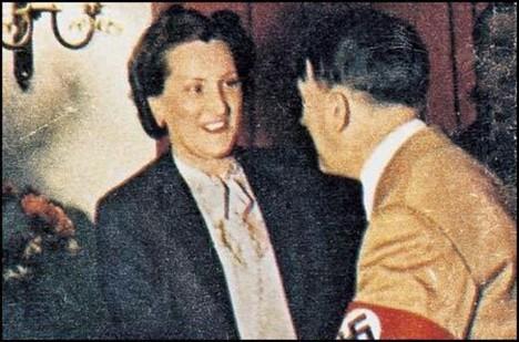 Christa Schroeder, sekretářka Adolfa Hitlera.