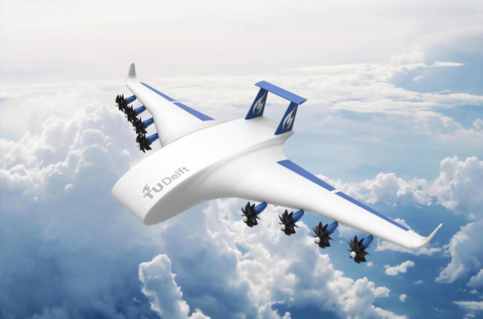 Vodík by mohl běžně pohánět i letadla.