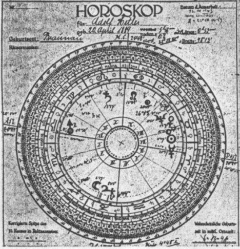 Hitlerův horoskop