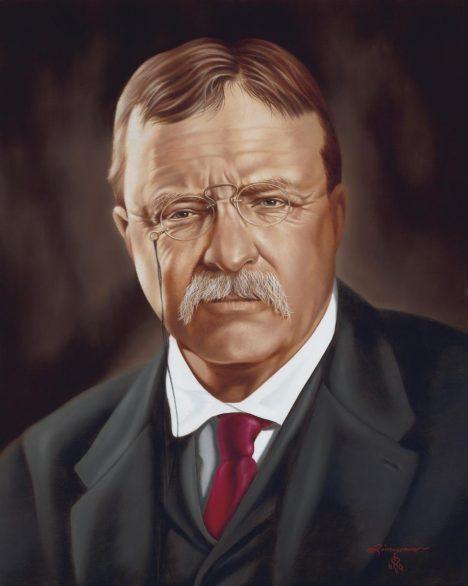 Hlava státu Theodore Roosevelt hudbu miluje a pořádá v Bílém domě spousty koncertů.