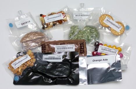 Zelenina, pečivo, sušenky. To všechno tvoří stravu dnešních kosmonautů. A díky moderním technologiím to vůbec nechutná zle.