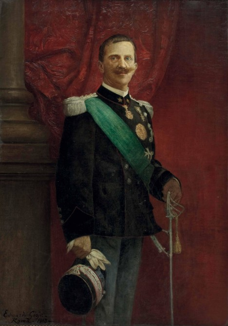 Italský král Viktor Emanuel III dostává o Verdiho zdravotním stavu pravidelné informace.