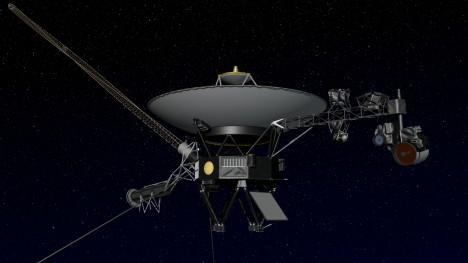 Jediná sonda, která navštívila Uran, byl Voyager 2