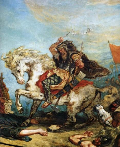 Jedním z nejmocnějších barbarských náčelníků, který zapříčinil stěhování národů, byl hunský král Attila.