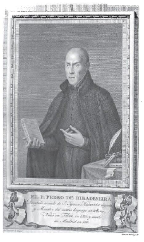 Jezuita Pedro de Ribadeneira věří, že kapitánem celého loďstva se stane Bůh.