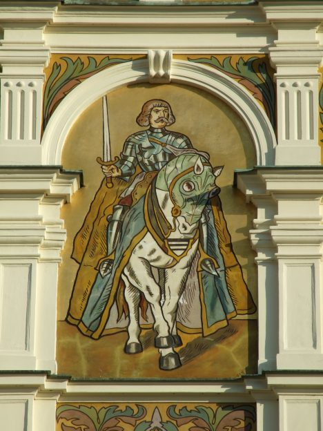Jiří z Poděbrad okolnosti svého původu tají.