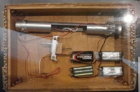 Kaczynského bomba zrekonstruovaná FBI.