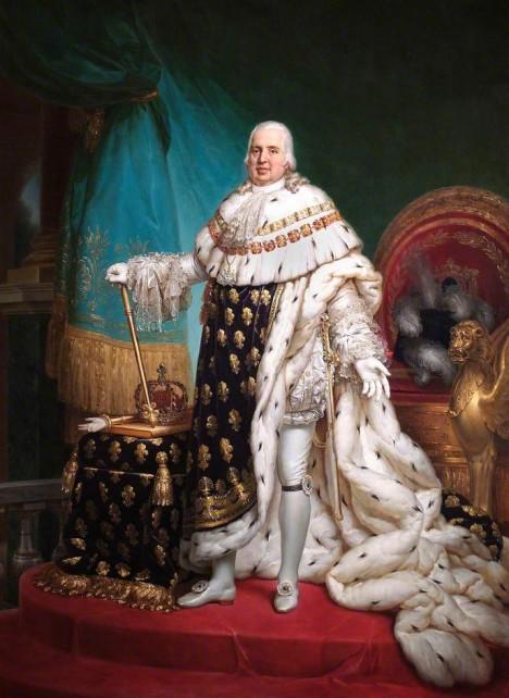Král Ludvík XVIII. zemře, aniž by zanechal potomky.