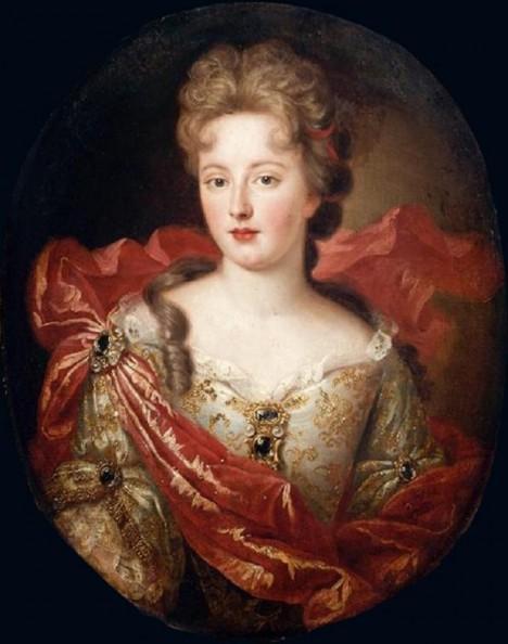 Králova milenka vévodkyně de Fontanges zavede na francouzském dvoře nový módní hit.