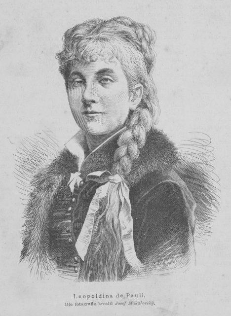 Leopoldina_Ortova_de_Pauli_1883