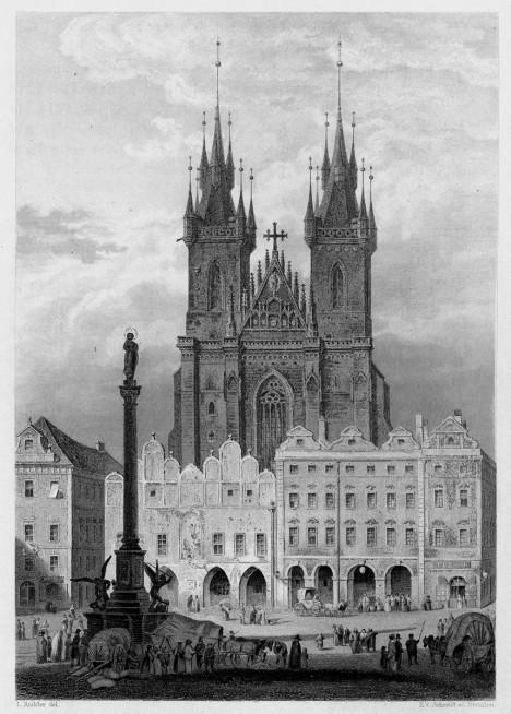 Mariánský sloup uprostřed Staroměstského náměstí spousta lidí mylně považuje za symbol vítězství katolíků na Bílé hoře.