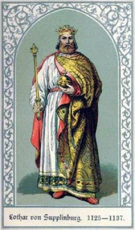 Německého krále Lothara III. je třeba jaksepatří pohostit.