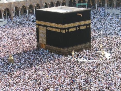 Největší atrakcí saúdskoarabské metropole je tzv. Kába.