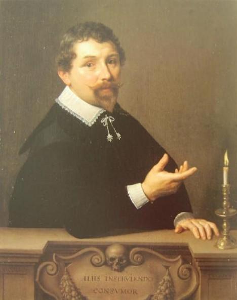 Holandský lékař Nicolaes Tulp je pověstný svou čestností a učeností.