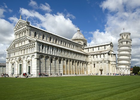 Nikde jinde není renesanční architektura rozšířená tak jako v Itálii