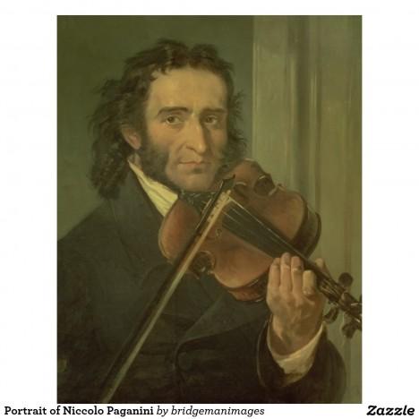 O Paganinim kolují různé historky, třeba že byl schopen dohrát koncert jenom na jedné struně.