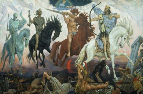 Apokalyptičtí jezdci jsou symbolem přicházejícího konce a utrpení. Kdy se s nimi střetneme?