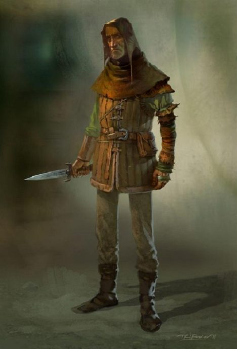 Ozbrojení loupežníci patří mezi postrach středověkých lesů.