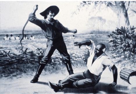 Pán bijící otroka