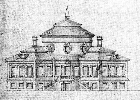 Původní podoba vetruského zámku. Mohl tak vypadat i v době návštěvy panovnického páru.