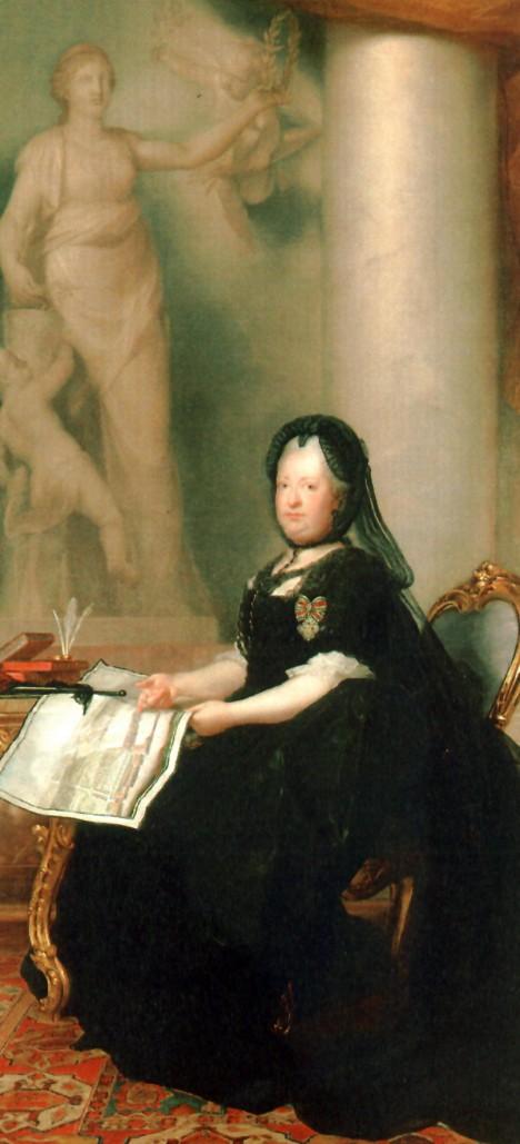 Panovnice často a ráda píše dopisy. S oblibou v nich uděluje rady všem okolo.