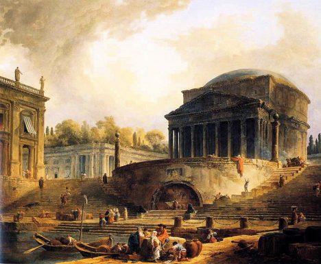 Pantheon zasvětí Římané Panně Marii. Zároveň se zde připomínají duše zemřelých.