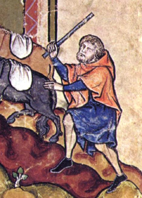 Pláště s kapucí zažívají ve středověku u mužů velkou oblibu.