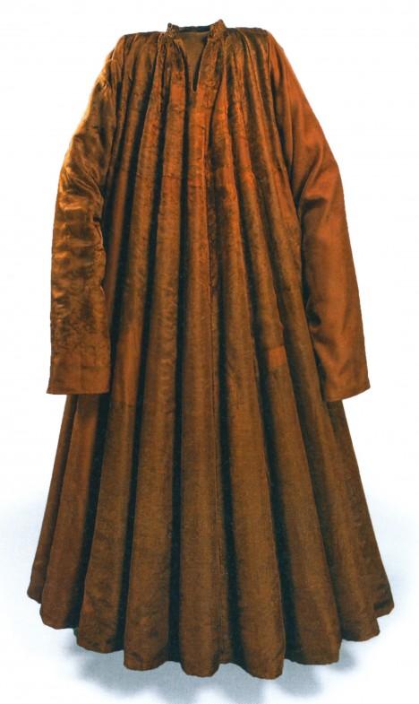 Pohřební šaty, které patřily Janu Zhořeleckému. Jeho smrt je dosud neobjasněnou záhadou.