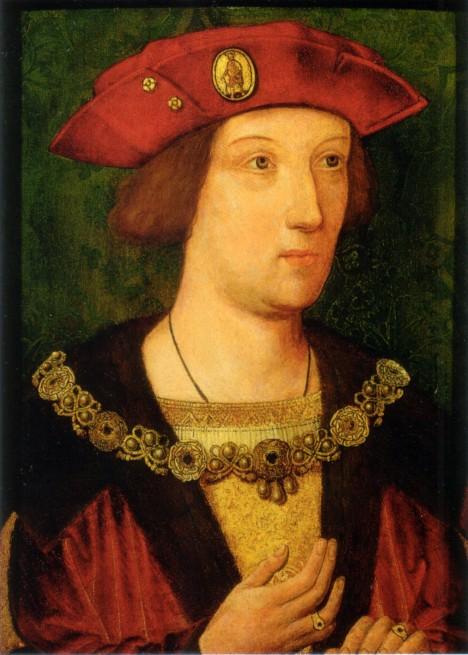 Princ Artur má nastoupit na anglický trůn. Nakonec ale umírá v necelých šestnácti letech.