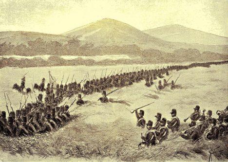 Pušky a bodáky kolonistických vojáků nejsou pro Balijce postrachem.