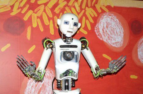 První humanoidní robot v ČR.