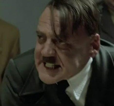 Rozhněvaný Hitler