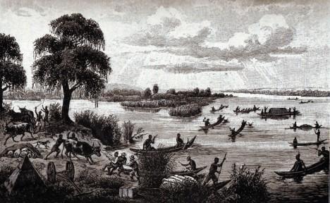 Setkání s africkými domorodci na řece Zambezi nedopadne pokaždé přátelsky.